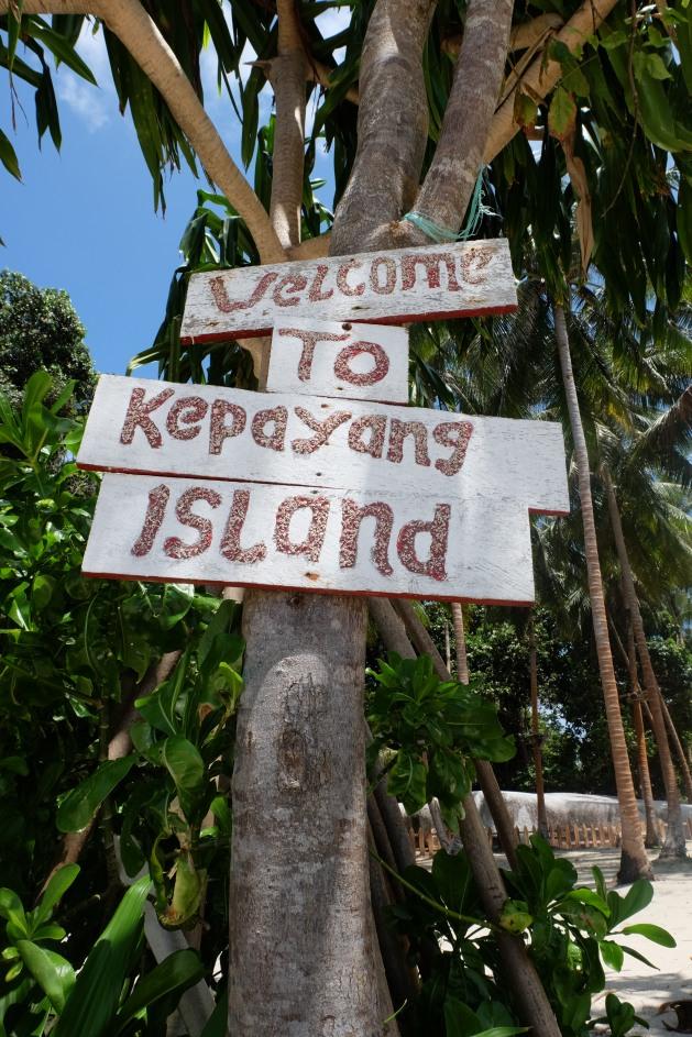 Signage Pulau Kepayang