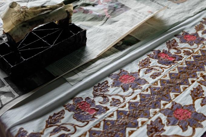 Design Batik Simpor (cetak)