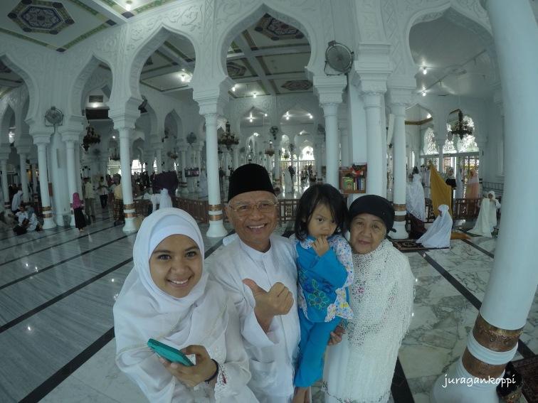 Sholat Ied di Mesjid Baiturrahman, Banda Aceh